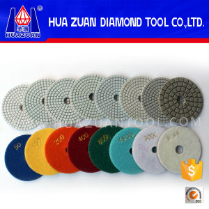 100mm Stones Polishing Resin Pads pictures & photos