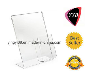 Wholesale 8.5 X 11 Acrylic Sign Holder with Pocket pictures & photos