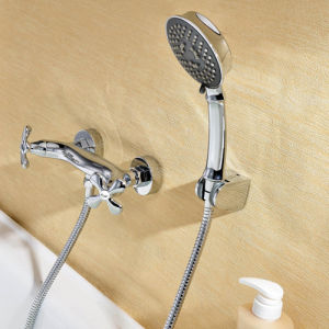 Wall Mounted Bathroom Sink Lavatory Bath Faucet pictures & photos