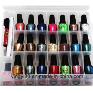 Custom Acrylic Counter Display for Nail Polish pictures & photos