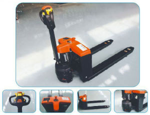 New 1.3t Eletric Stacker Pallet Truck with CE pictures & photos
