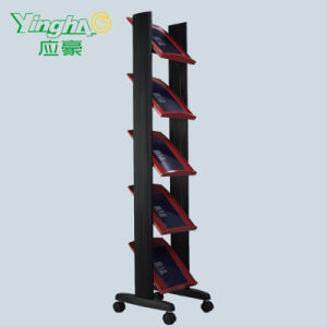 Commerical PVC Magazine Rack
