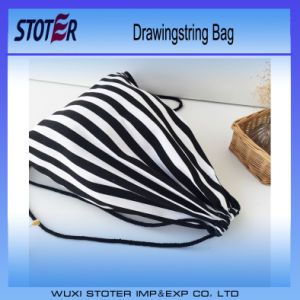 Factory Custom Logo Drawstring Bag Cotton