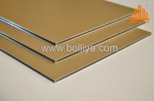 Champagne Wall Decorative Panels Aluminium Composite pictures & photos