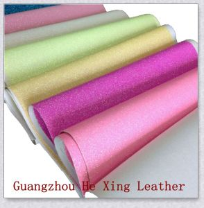 Fashion Synthetic Glitter Leather for Furniture Bag, Sofa pictures & photos