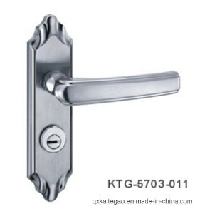 (KTG-5703-011) High Security Satin Finish Stainless Steel Plate Handle pictures & photos