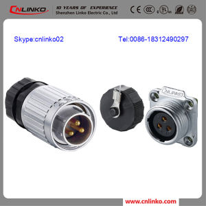 Cable Connector IP67/Coupling Connectors/Cable Connector 3pin for Lift/Dumbwaiter pictures & photos