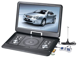 """7/9/10.1/14"""" Portable DVD Player with Game, FM, TV, USB & Mc Card Port"""