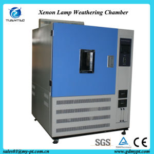 CE Certificate ASTM G155-05A Non-Metallic Materials Xenon Lamp High Acceleration Aging Test Chamber pictures & photos