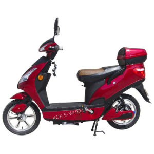 Hot 200W/250W/500W Electric Bike Moped with Pedal pictures & photos