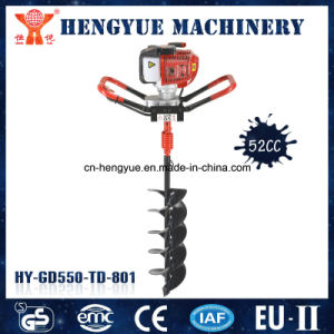 New Model 52cc Ground Hole Drilling Machines pictures & photos