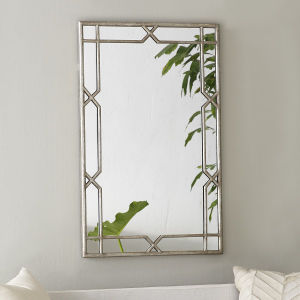 Antique Silver Finished Metal X-Quisite Framed Wall Mirror for Home Decoration pictures & photos