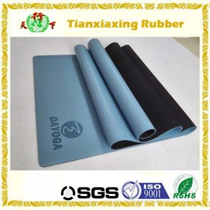 Embossed Custom Logo PU Leather Yoga Mat Manufacturer