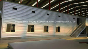 Prefabricated House for Broiler with High Quality Automatic Equipment From Factory pictures & photos