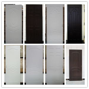 More Durable and Affordable Wood Look MDF/PVC Room Door pictures & photos