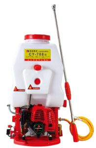 Gasoline Engine Recoil Two Stroke Power Sprayer (CY-708) pictures & photos