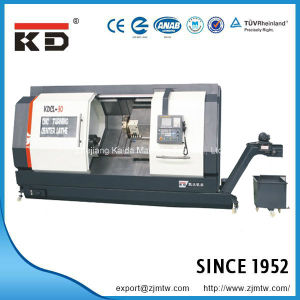 High Precision Full Functional Slant Bed CNC Lathe Kdcl-30 pictures & photos