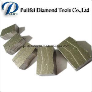 Stone Edge Cutting Diamond Blade Segment Granite Sandstone Marble Segment pictures & photos