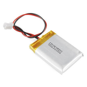 3.7V/500mAh 602535 Lithium Polymer Battery for Bluetooth Loudspeaker pictures & photos