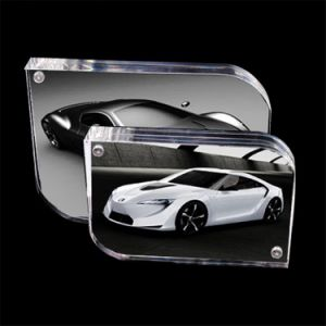 New Style Useful Design Acrylic Photo Frame with Magnet