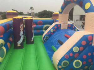 2016 Giant Commercial Inflatable Bouncer with Slide for Sale pictures & photos