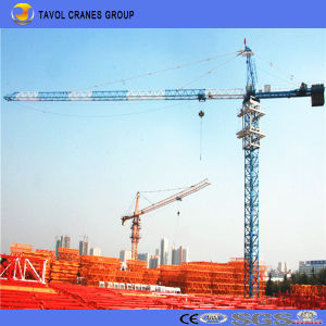 China 16t Tower Crane 70m Jib with 4.0t Tip Load Qtz160-7040 Tower Crane pictures & photos