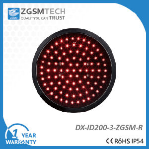 200mm Red Round Aspect LED Signal Modules