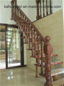 High-Quality Natural Wood Interior Staircase pictures & photos