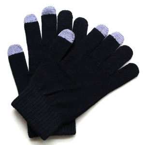 Men′s Fashion Cashmere Knitted Touch Screen Warm Gloves (YKY5460) pictures & photos