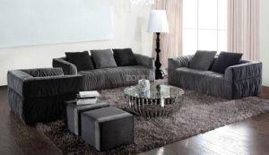 Modern Living Room Fabric Sofa Sofa Set 1+2+3 Design Lz062 pictures & photos