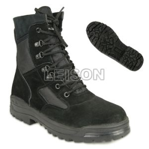 Tactical Boots of Cowhide Full Grain Leathe/Anti-Slip and Anti-Abrasion/Can Wear to Anywhere pictures & photos