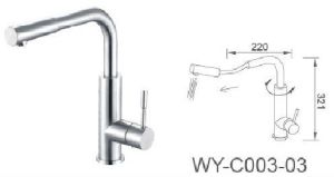 Stainless Steel Kitchen Pull out Faucet with CSA Certificated pictures & photos