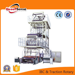 IBC Film Inner Cooling Three Layers Film Blowing Machine pictures & photos