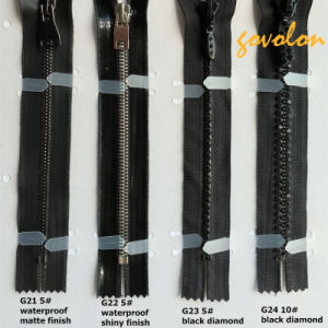 3# 5# 8#, One Way Open Plastic Zipper/Metal Zipper/Diamond Zipper pictures & photos