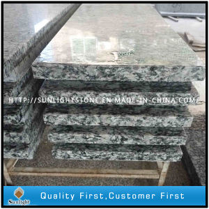 Polished Spray White, Sea Flower White Granite Slabs for Stairs pictures & photos