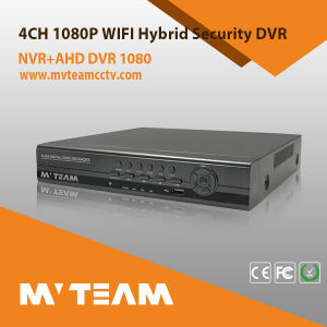 Mvteam 4CH Analog CCTV DVR H. 264 with Free Cms Software pictures & photos