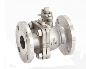 ANSI API Flange Floating Spherical Ball Valve pictures & photos