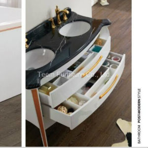 Bathroom Cabinet of Post-Modern Style with High-Capacity pictures & photos