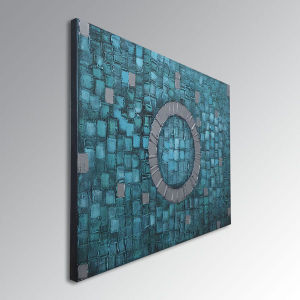 Handmade Modern Oil Painting on Canvas Abstract Art pictures & photos