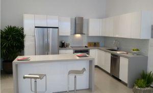 Gray Silver Quartz Stone Countertops for Kitchen or Bathroom pictures & photos