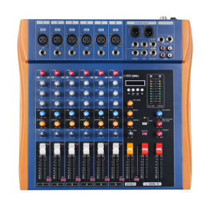 /Mixer/Soud Mixer/Professional Mixer /Console/Sound Console/Brand Mixer Mixing Console/Hl-6u pictures & photos