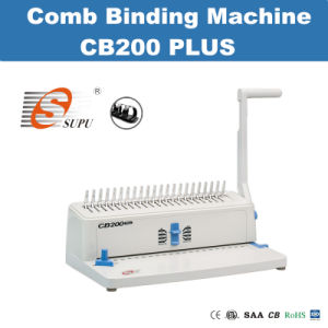 Steel A4 Size Book Comb Binding Machine pictures & photos
