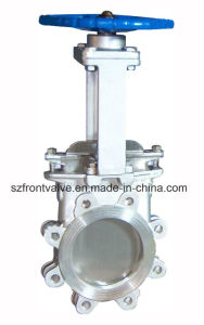 Cast Steel and Cast Iron Knife Gate Valve pictures & photos