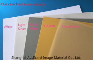 Transparent Business Card Printable PVC Core Sheet/ PVC Card Material pictures & photos