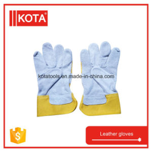 Industrial Safety Leather Gloves Leather Working Glove