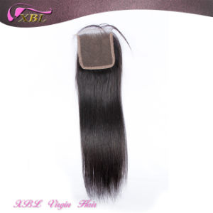 Hot Sale Virgin Hair Lace Closure Indian Hair Closure Piece pictures & photos