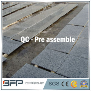 China Natural Stone Green Floor Tile Granite for Flooring/Wall/Stairs/Window Sill pictures & photos