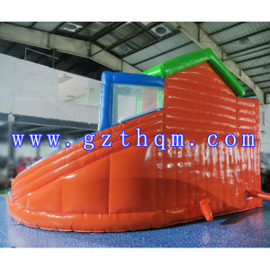10 Meters High Adults Giant Inflatable Water Slide with Pool/Inflatable Slide Games pictures & photos