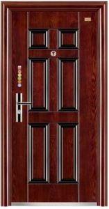 Steel Door Security Door Exterior Door Iron Door Metal Door for Overseas Market (FD-525) pictures & photos