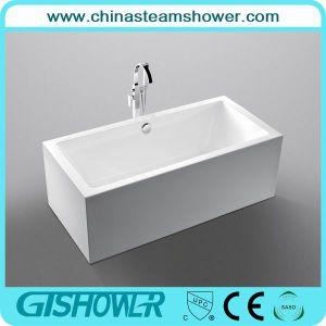 Free Standing Acrylic Fiberglass Bathtub (KF-737K)